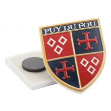 Aimant blasons Puy du Fou