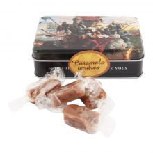 Boite caramels tendres Puy du Fou 2021