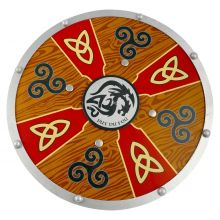 Bouclier bois Aldéric Viking