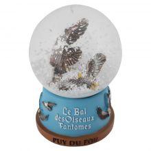 Boule à neige grand aigle Bal des Oiseaux Fantômes