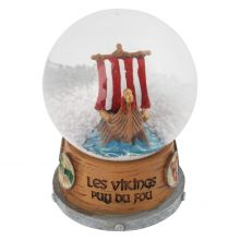Boule neige Drakkar - Viking