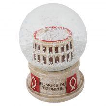Boule à neige stadium Signe du Triomphe