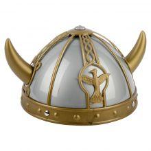 Casque gris Viking