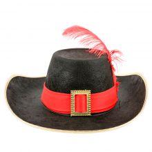 Chapeau déguisement Mousquetaire