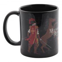 Mug noir Mousquetaire de Richelieu