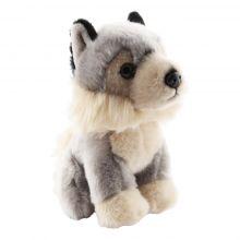 Profil peluche loup viking