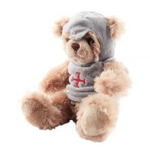 Peluche ours chevalier