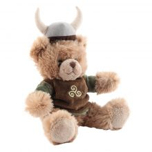 Peluche ours viking