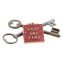 Porte-clés lettrines