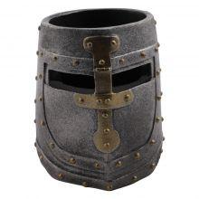 Pot à crayon casque chevalier