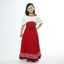 Robe déguisement Sérafina enfant