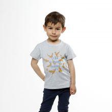 T-shirt gris Bal des Oiseaux Fantômes enfant