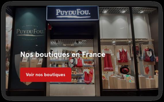 Nos boutiques en France
